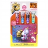 ชุดลิปกลอสปลอดสารพิษสำหรับเด็กพร้อมกระเป๋าซิป Townleygirl Lip Gloss with Collectible Bag Set (Despicable Me 3)