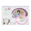ชุดรับประทานอาหารสำหรับเด็ก Disney Baby Microwave Safe Box Set (Disney Princess)