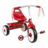 จักรยานสามล้อพับเก็บได้สำหรับเด็กเล็ก Radio Flyer Folding Trike 2Go (Red)