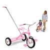 จักรยานสามล้อพร้อมด้ามผลักจูง Radio Flyer Classic Tricycle with Push Handle (Pink)
