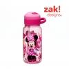 กระติกน้ำแบบหลอดดูดสำหรับเด็ก Zak! Designs 14 Oz. Water Bottle with Straw (Minnie Mouse)