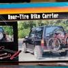 แร็คแขวนจักรยานท้ายรถยนต์ สำหรับรถที่มียางอะไหล่อยู่หลังรถ