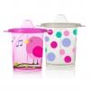 แก้วหัดดื่มสำหรับเด็กเล็ก evenflo Tilty TripleFlo (Pink)