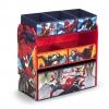 ชั้นเก็บของเล่นสำหรับลูกน้อย Delta Children Multi-Bin Toy Organizer (Marvel The Amazing Spiderman)