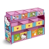 ชั้นเก็บของเล่นสุดน่ารัก Delta Children Deluxe 9 Bin Toy Organizer (Hello Kitty)