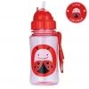 กระติกน้ำชนิดหลอดดูดพร้อมฝาปิด Skip Hop รุ่น Zoo Straw Bottle (Lady Bug)