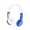 หูฟังควบคุมระดับเสียงสำหรับเด็ก BuddyPhones Volume-Limiting Headphones for Kids - InFlight (Blue)
