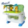 เก้าอี้ทานข้าวพร้อมของเล่นเสริมพัฒนาการ Royalcare รุ่น Booster Seat Rainforest