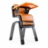 เก้าอี้รับประทานอาหารทรงสูงสุดหรู Nuna ZAAZ High Chair (Black & Orange)