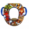 อุปกรณ์รองนั่งชักโครกสำหรับหนุ่มน้อย Marvel รุ่น Marvel Heroes Soft Potty Seat