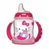 ถ้วยหัดดื่มปลอดสารพิษ Nuk 5-oz Learner Cup, Silicone Spout, BPA Free (Hello Kitty (Pink))