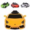 รถแบตเตอรี่พร้อมรีโมทบังคับ Lamborghini Aventador LP700 6V Battery-Powered Ride-On (Yellow)
