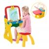 โต๊ะวาดเขียนเอนกประสงค์สำหรับเด็ก Crayola Play 'N Fold 2-in-1 Art Studio (Red & Yellow)