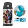 กระติกน้ำสเตนเลสรักษาอุณหภูมิ Thermos FUNtainer Vacuum Insulated Stainless Steel Bottle 12OZ (Captain America Civil War)