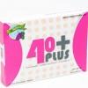40+Plus อาหารเสริม สำหรับผู้หญิง ช่องคลอดกระชับ มดลูกเข้าอู่ และหน้าอกกระชับขึ้น