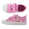 รองเท้าผ้าใบสำหรับลูกสาว Peppa Pig Canvas Trainers for Girls (Pink Paramoor)