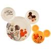 ชุดจานรับประทานอาหารสุดน่ารัก Disney Mealtime Magic - Hi! 2 Piece Icon Plate Set (Classic Mickey Mouse)