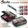 Sasha Lip Brusher Eyeshadow ชุดแต่งหน้า ซาช่า