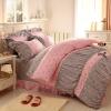 ชุดผ้าปูที่นอนเจ้าหญิง ลูกไม้ SD3019-19P