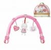 โมบายติดรถเข็น คาร์ซีท และเปลเด็ก Sozzy รุ่น Travel Arch - Pink Bunny