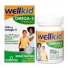 วิตามินเสริมแร่ธาตุโอเมก้า 3 แบบเม็ดเคี้ยวสำหรับเด็ก Vitabiotics Wellkid Omega-3 Chewable plus Vitamin D