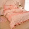 ชุดผ้าปูที่นอนเจ้าหญิง ลูกไม้ SD3009-3P