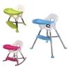 เก้าอี้รับประทานอาหารทรงสูงปรับระดับได้ 3-in-1 Adjustable High Chair for Children