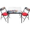 ชุดโต๊ะและเก้าอี้เอนกประสงค์แบบเขียนและลบได้ Disney Erasable Activity Table Sets with 3 Markers (Cars)