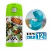 กระติกน้ำสเตนเลสรักษาอุณหภูมิ Thermos FUNtainer Vacuum Insulated Stainless Steel Bottle 12OZ (Teenage Mutant Ninja Turtles)