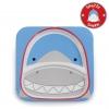 จานอาหารแบ่ง 2 ช่องสำหรับเด็ก Skip Hop รุ่น Zoo Plate (Shark)