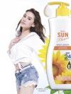โลชั่นกันแดด มิสทิน ซัน ฟลาวเวอร์ บอดี้ โลชั่น ซันสกรีน โพรเทคชั่น เอสพีเอฟ 24 พีเอ++ Mistine Sun Flower Body Lotion Sun Screen Protection SPF24PA++