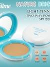 เท็ลมี เนเจอร์ ไบร์ท ไลท์เทนนิ่ง ทู-เวย์ เพาเดอร์ เค้ก SPF 20 PA++ / Tellme Nature Bright Lightening Two Way Powder Cake SPF 20 PA++