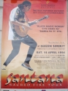 โปสเตอร์ คอนเสิร์ต SANTANA : Sacred Fire Tour