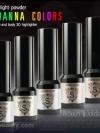 ซิเวียน่า แป้งไฮไลท์ 3D / Sivanna High Light Powder for face and body 3D highlighter