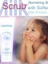คิวท์เพรส มิลค์ นูริชชิ่ง บอดี้ สครับ วิธ ซอฟเทนนิ่ง มิลค์ โปรตีน /cutepress milk Norishing body Scrub with softening milk Protein