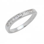 แหวนอัลลอยด์หุ้มทองคำขาว