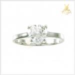 แหวนเพทายขาว เพิ่มเสน่ห์น่าหลงใหล ผู้คนรักใคร่