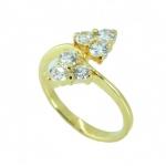 แหวนอัลลอยด์หุ้มทองคำแท้