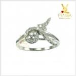 แหวนเลข๙ เล็กๆ น่ารักๆ แหวนที่ทรง ธ สถิตในดวงใจ