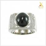แหวนนิลแท้ เท่อย่างมีสไตล์ สวมใส่โดดเด่นเต็มๆ นิ้ว