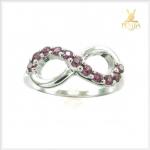 แหวนโรโดไลต์ Infinity สุดเก๋ น่ารักๆ
