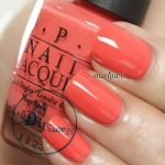 O.P.I. Nail Lacquer # Hot & Spicy