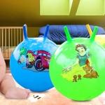 ลูกบอลเด้งดึ๋ง ขนาด 85/65 CM ยกลัง 10-1000 ลูก(แบบหูกระต่าย ผิวเรียบ)