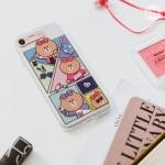 Preorder เคสกระพริบ IPHONE 7/ 7 Plus Lightening Soft Case ลาย Cartoon Chocolate