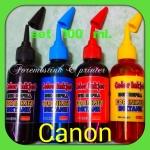 น้ำหมึกเติม CANON ขนาด 100 ml. SET 4 ขวด