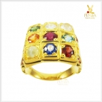 แหวนนพเก้าแท้ ทองแท้ เพชรแท้ ตามตำราโบราณ(สอบถามราคา)