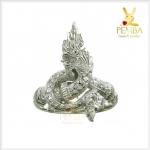 แหวนพญานาค แหวนพญานาคราช ใส่เสริมโชคลาภ
