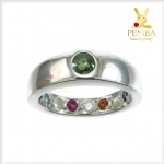 แหวนนพเก้า ชูเขียวส่อง เสริมมงคลชีวิตทุกด้าน