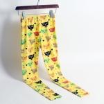 เลคกิ้งแฟชั่น นำเข้า ลายแมว ผ้าไลคร่า มีสีเหลือง สีเขียว ลายน่ารัก ผ้าไม่บาง ราคา 290 บาท 3 ตัวขึ้นไป ตัวละ 250 บาท คละแบบได้