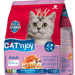 Cat'n Joy Adult Tuna Chicken & Shrimp แคท เอ็น จอย แมวโต สูตรปลาทูน่า ไก่ และกุ้ง 1.2 KG x 2 ถุง